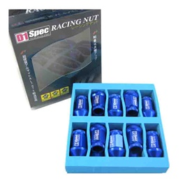 D1 Spec Lug nuts Blue 1.25-SehgalMotors.Pk